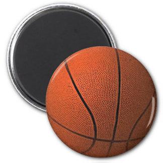 Basketball-Ball Runder Magnet 5,7 Cm