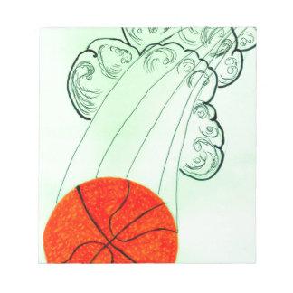 Basketball-Ball Sketch4 Notizblock
