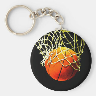 Basketball-Ball Standard Runder Schlüsselanhänger