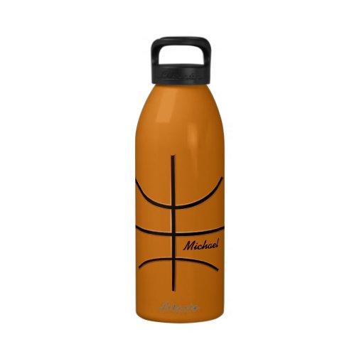 Basketball-Ball-Wasser-Flasche Wasserflasche