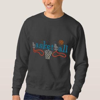 Basketball Besticktes Sweatshirt