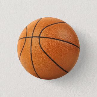 Basketball-Button/Knopf - i-Herzbänder! Runder Button 2,5 Cm