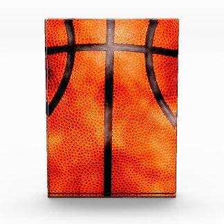 Basketball-den ganzen Tag Schmutz-Art Acryl Auszeichnung