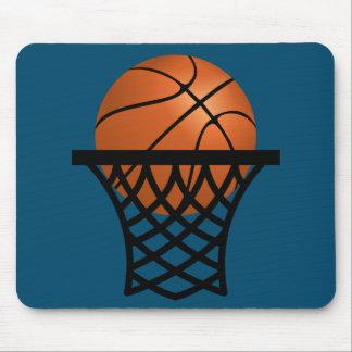 Basketball, der in Band einsteigt Mauspads