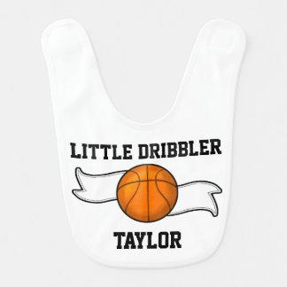 Basketball-Dribbler-Baby-Schellfisch Babylätzchen
