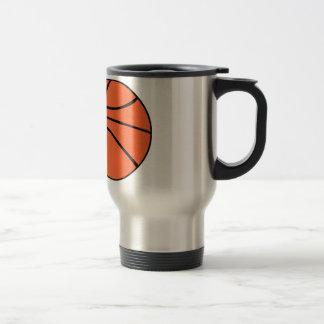Basketball Edelstahl Thermotasse