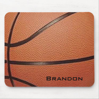 Basketball-Entwurf Mousepad