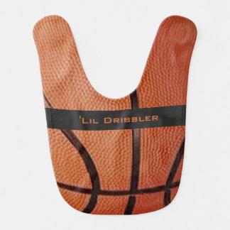 Basketball-Entwurfs-Baby-Schellfisch Lätzchen