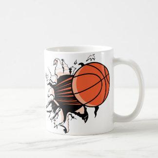 Basketball-Explosion Kaffeetasse