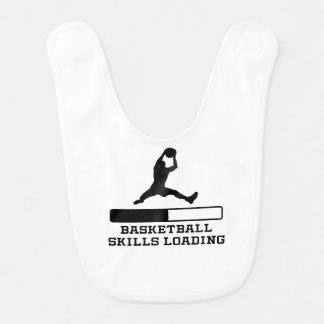 Basketball-Fähigkeits-Laden Lätzchen