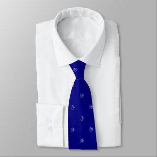Basketball-Fan-Marine-Blau Bedruckte Krawatte