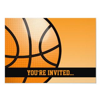 Basketball-Geburtstag 12,7 X 17,8 Cm Einladungskarte