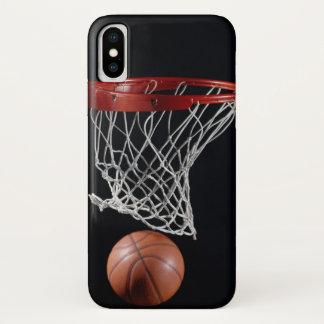 Basketball im Band iPhone X Hülle