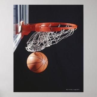 Basketball im Band, Nahaufnahme Poster