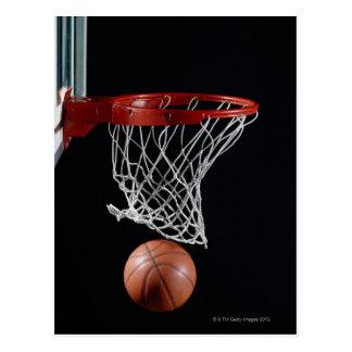 Basketball im Band Postkarte
