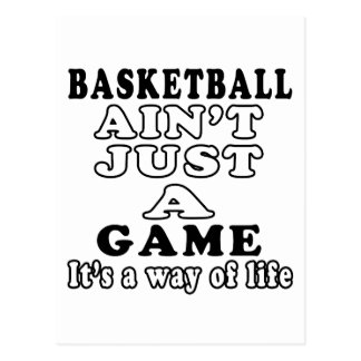 Basketball ist nicht gerade Kampfkünste Postkarte