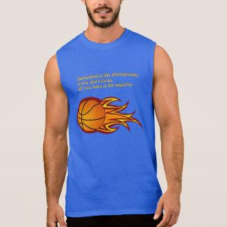 Basketball ist wie Fotografie Ärmelloses Shirt