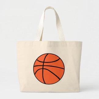 Basketball Jumbo Stoffbeutel