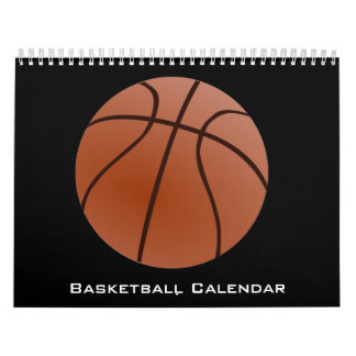 Basketball-Kalender 2017 Wandkalender