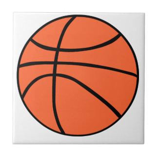 Basketball Kleine Quadratische Fliese