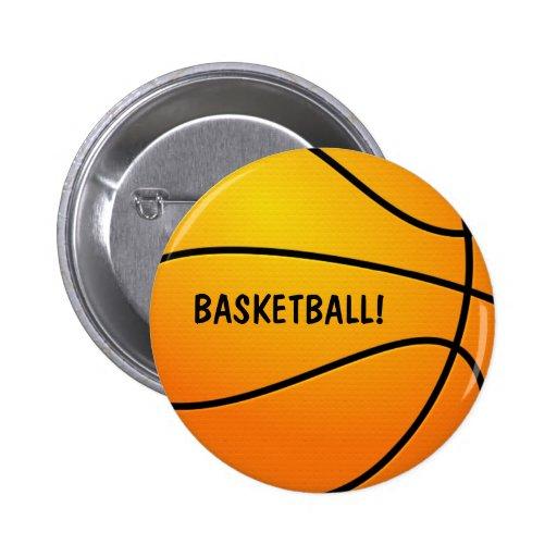 BASKETBALL! Knopf Buttons