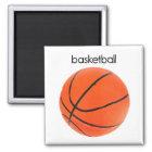 Basketball-Kühlschrank-Magnet Quadratischer Magnet