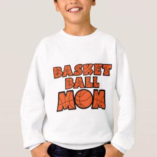 Basketball-Mamma, orange Sweatshirt
