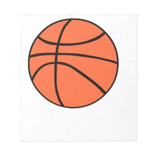 Basketball Memo Blöcke