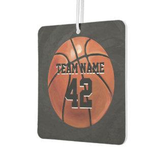 Basketball mit Namen Autolufterfrischer