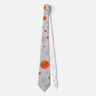 Basketball-Muster-Krawatte Bedruckte Krawatten