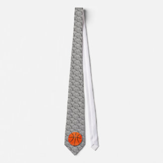 Basketball-Muster-Krawatte Personalisierte Krawatten