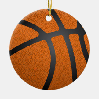 Basketball-Nahaufnahme Keramik Ornament