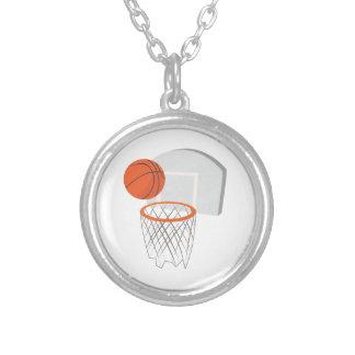 Basketball-Netz Versilberte Kette