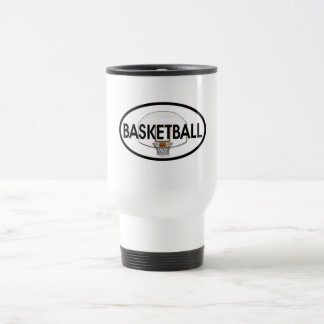 Basketball-Oval Reisebecher