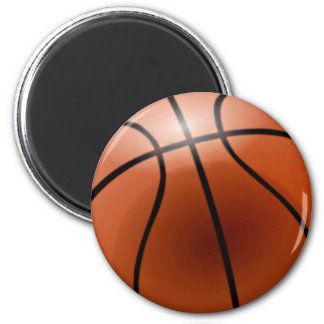 Basketball personifizieren es runder magnet 5,7 cm