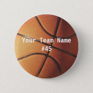 Basketball Runder Button 5,7 Cm