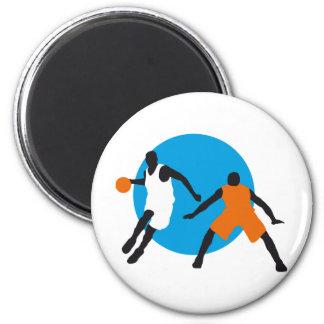 basketball runder magnet 5,1 cm