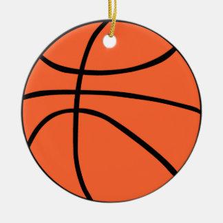 Basketball Rundes Keramik Ornament