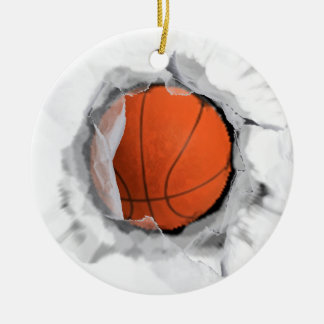 Basketball sammelbar keramik ornament