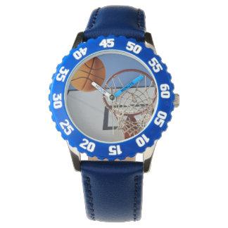 Basketball_Scoring_Point_Kids_Blue_Numbered_Watch. Uhr