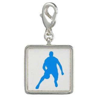 Basketball-Silhouette Charm