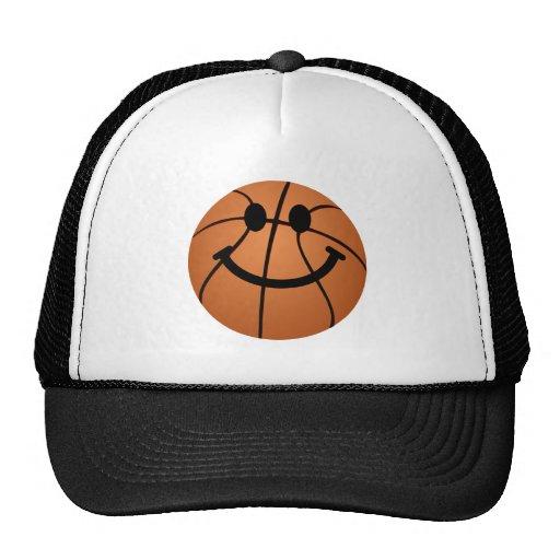 Basketball-Smiley Cap