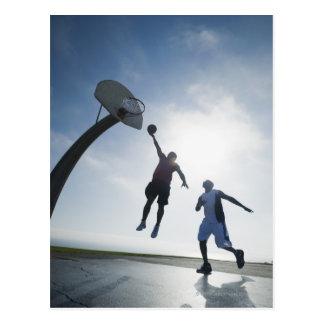 Basketball-Spieler 5 Postkarte