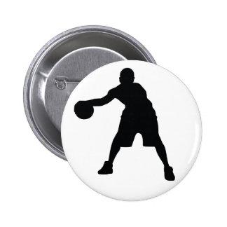Basketball-Spieler Anstecknadelbuttons