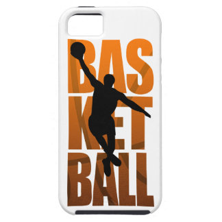 Basketball Spieler, spielender Basketballer iPhone 5 Cover