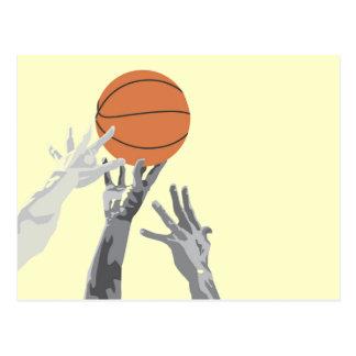 Basketball spitzen weg T - Shirts und Geschenke Postkarte