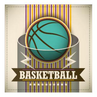 Basketball-Sport-Ball-Spiel cool Acryl Wandkunst