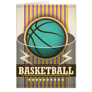 Basketball-Sport-Ball-Spiel cool Karte