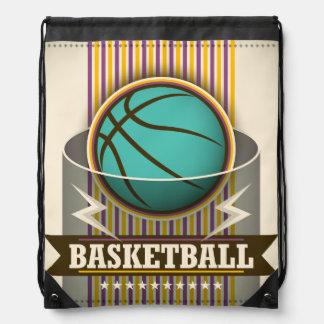Basketball-Sport-Ball-Spiel cool Turnbeutel