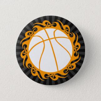 Basketball. Stammes- Runder Button 5,7 Cm